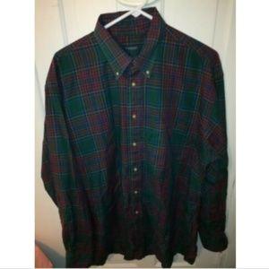 Burberry London Multicolor Plaid Button Up Shirt